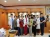 일신기독병원, 센트럴 우먼스 병원장 및 미얀마양곤의과대학 주임교수 방문